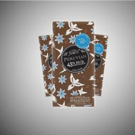 Tesco Finest Peruvian 43% Milk Chocolate 100g